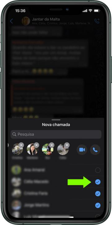 Vihje: Kuinka tehdä ryhmävideopuheluita WhatsApp-sovelluksen kautta iPhonessa 6