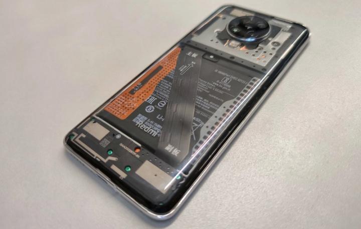 Redmi K30 Pro с прозрачной спинкой раскрывает Xiaomi 3