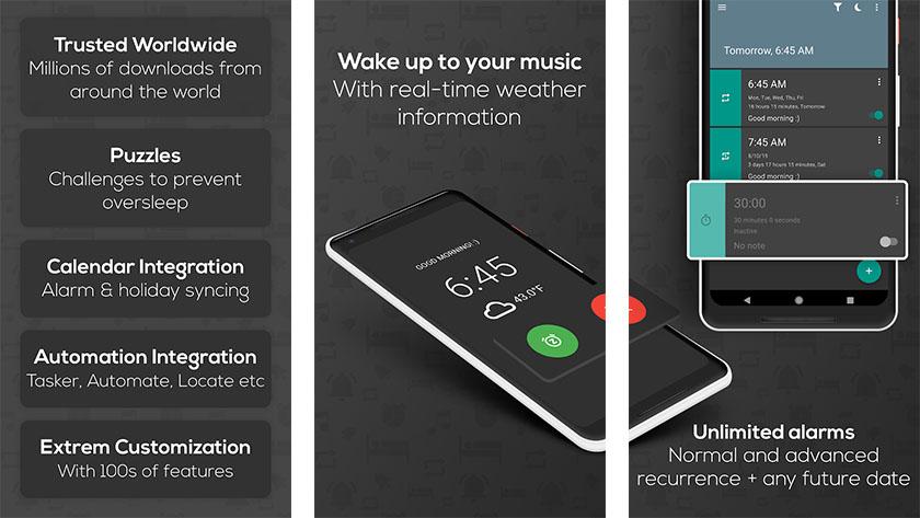 Hälytyskello raskaalle nukkujalle on yksi parhaista herätyskellosovelluksista Androidille