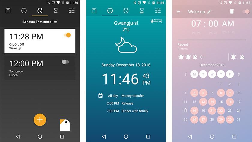 Early Bird Herätyskello on yksi parhaista herätyskellosovelluksista Androidille