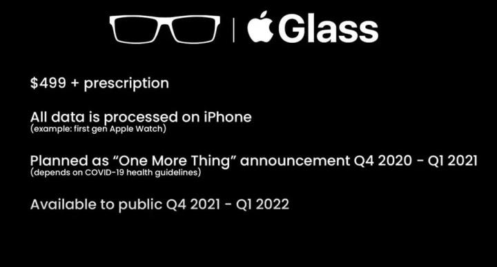 """Apple    Eynəklər: genişlənmiş reallıq eynəklərinin detalları Apple 3""""width ="""" 720 """"height ="""" 387 """"class ="""" aligncenter orta ölçülü wp-image-677756"""