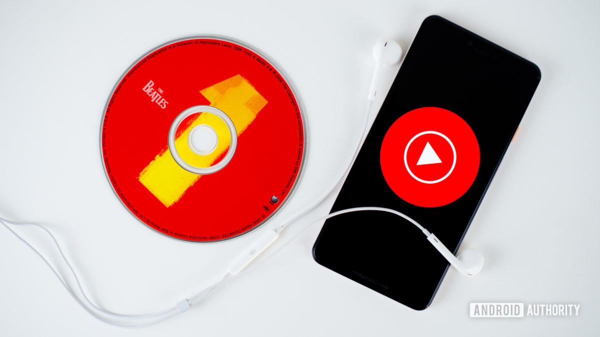 YouTube    Musiikki älypuhelimen kuvituskuvaa 2