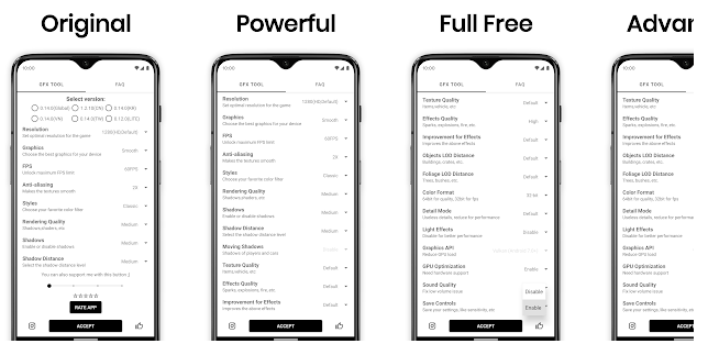GFX Tool Apk Lataa uusin versio Androidille - PUBG GFX Tool 1