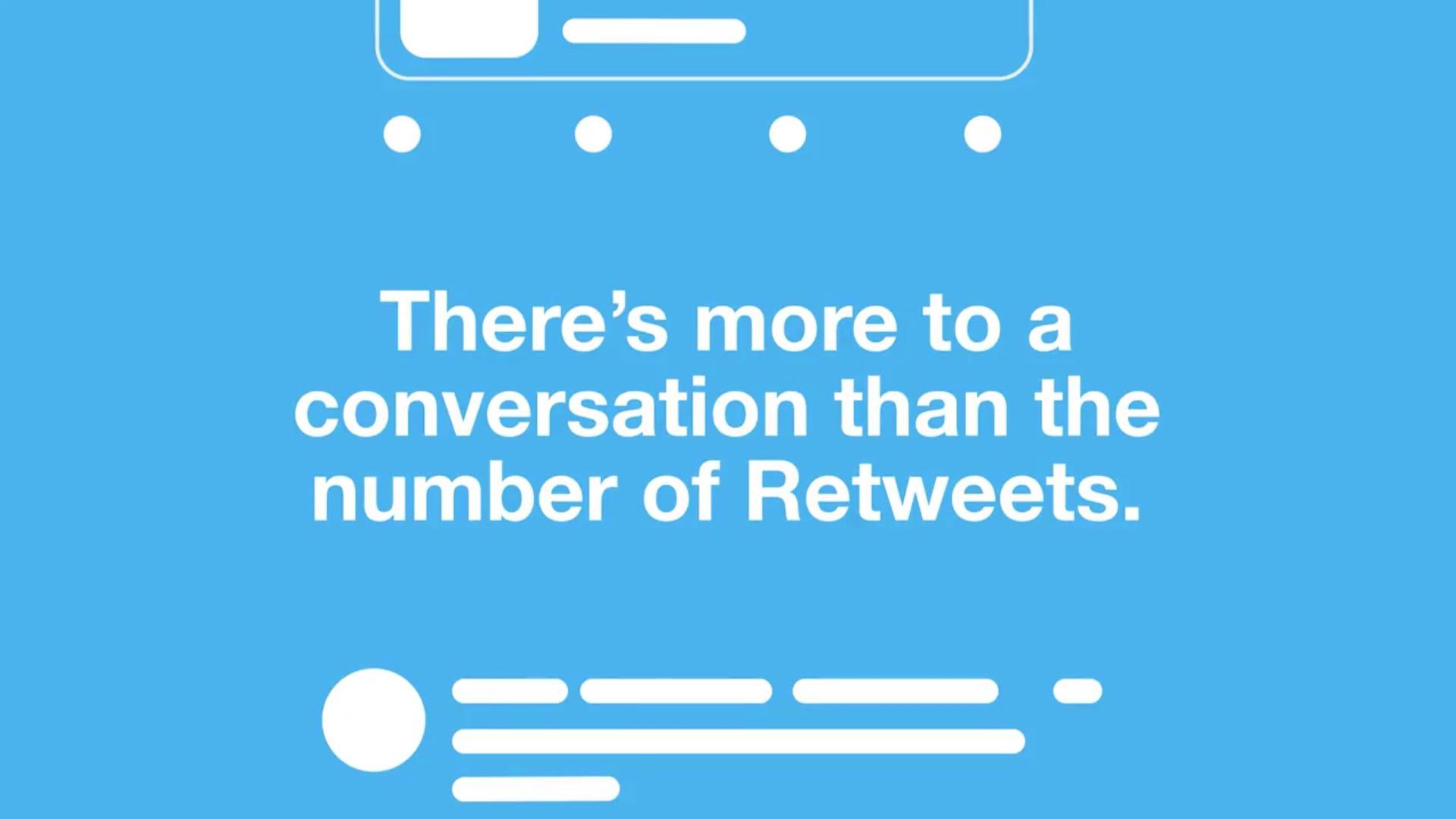 tweeting kommenttien kanssa