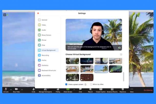 Zoom video zənglərinin fonunu necə dəyişdirmək olar və Skype 1