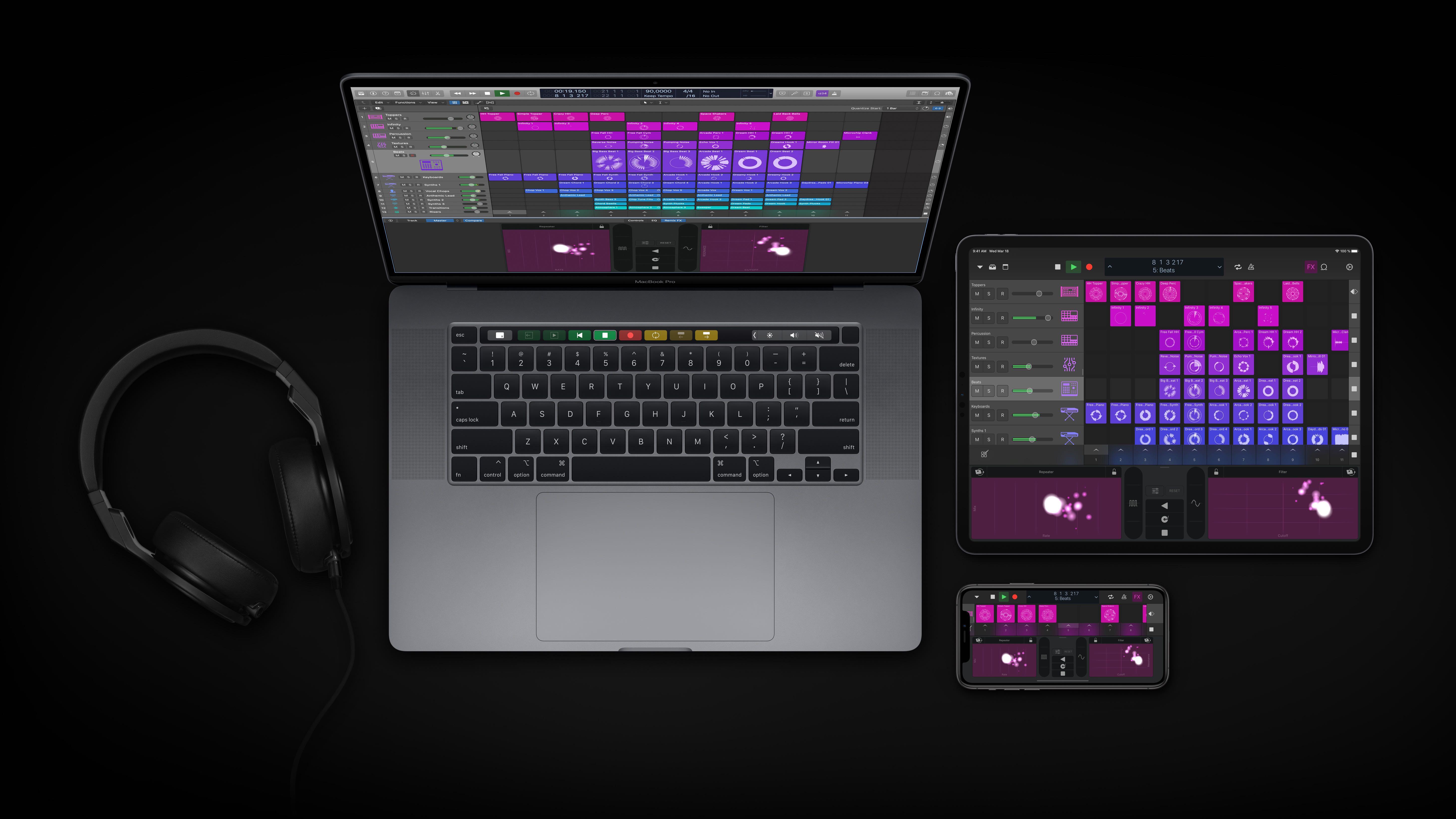 Logic Pro X 10.5 esittelee Live Loopsin, uudelleen suunnitellun näytteenottoprosessin ja uudet rytminluontityökalut 1