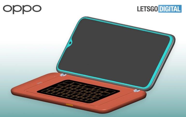 OPPO-patentti näyttää älypuhelimen, jossa on fyysinen QWERTY-näppäimistö