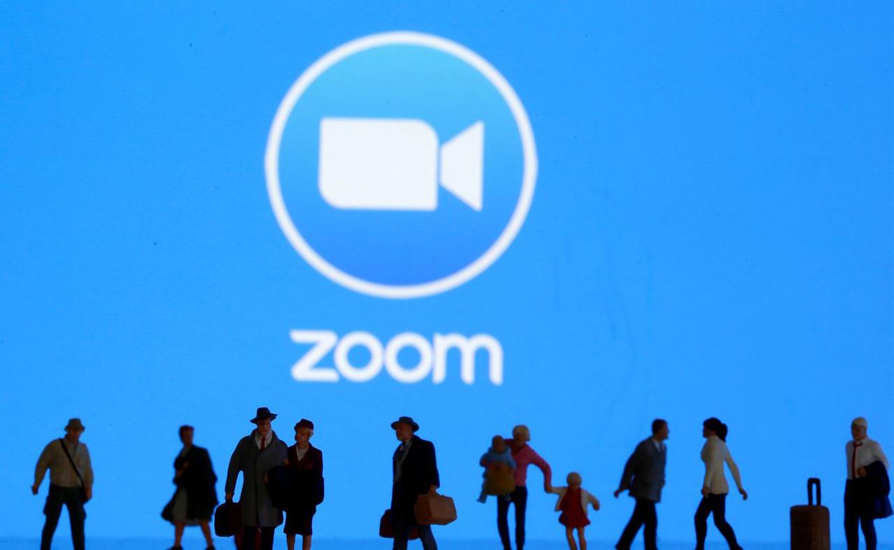 Zoom-tiliä rikottu