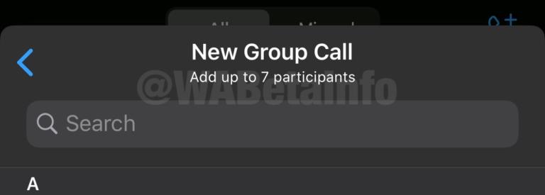 WhatsApp testaa videopuheluita kahdeksan osallistujan kanssa 1