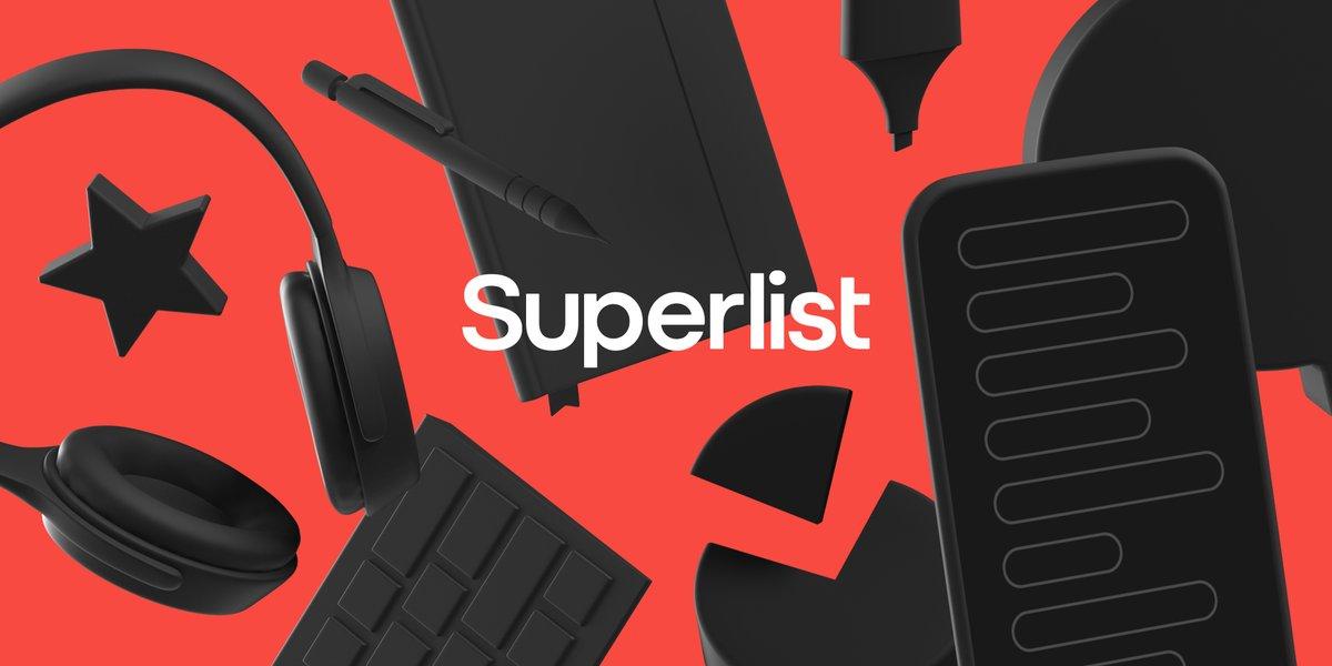 Wunderlist-perustaja ilmoittaa uuden suorituskykyä parantavan sovelluksen nimeltä Superlist 1