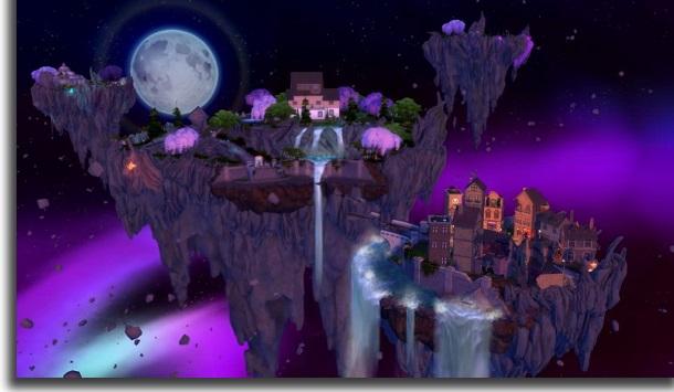 The Sims 4 taikuuden valtakunnan portaali
