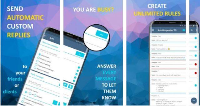 Zaplanuj automatyczne odpowiedzi na WhatsApp i Telegram 2 aplikacje 2