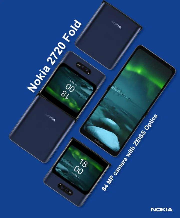 Новый складной смартфон Nokia