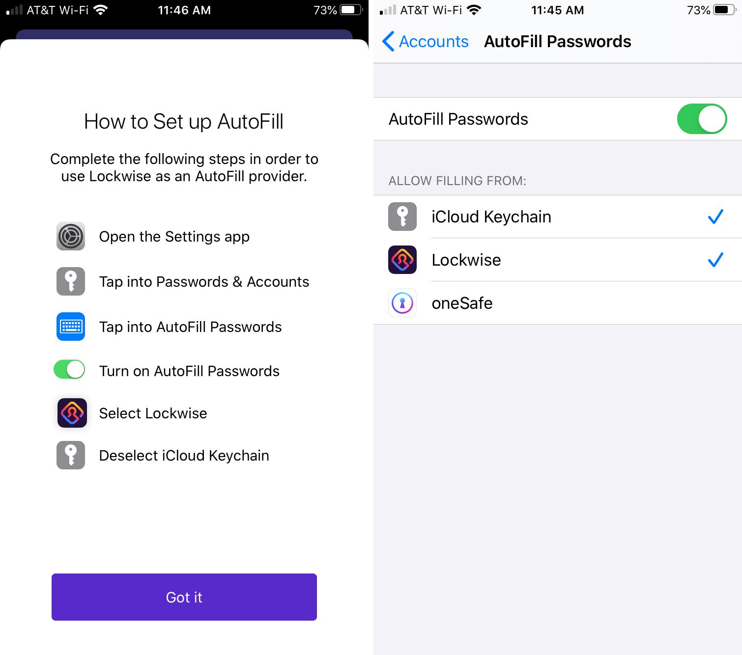 Firefox Estä iPhonen automaattinen täyttö