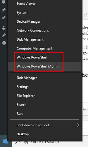 7  Tapoja avata PowerShell sisään Windows 10 2