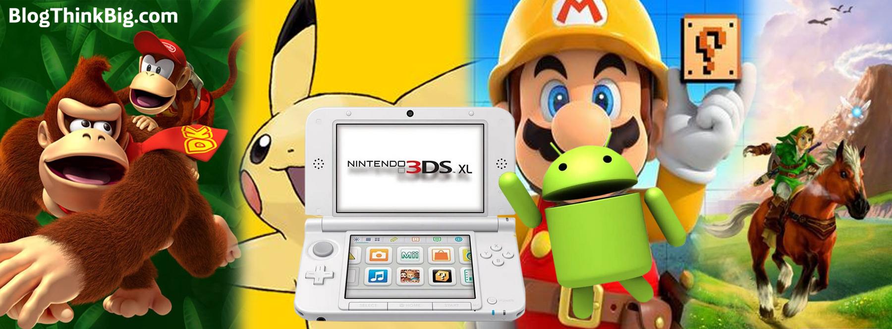 Nintendo 3DS -emulaattori näkyy virallisesti Androidissa