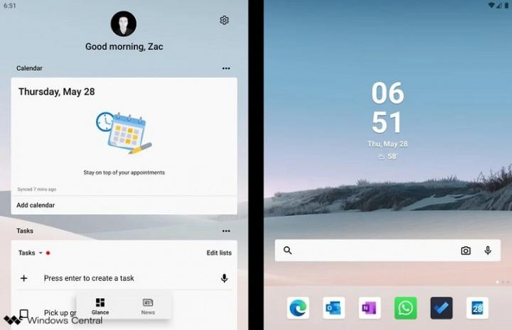 Zobacz, co aplikacje Microsoft Android mogą zrobić na Surface Duo 2