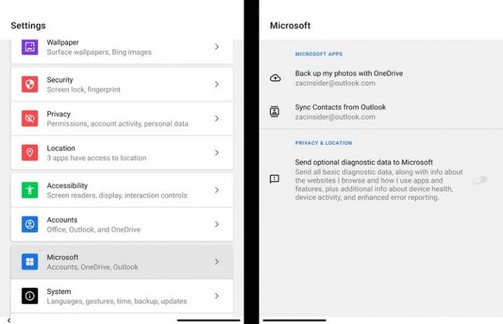 Zobacz, co aplikacje Microsoft Android mogą zrobić na Surface Duo 10