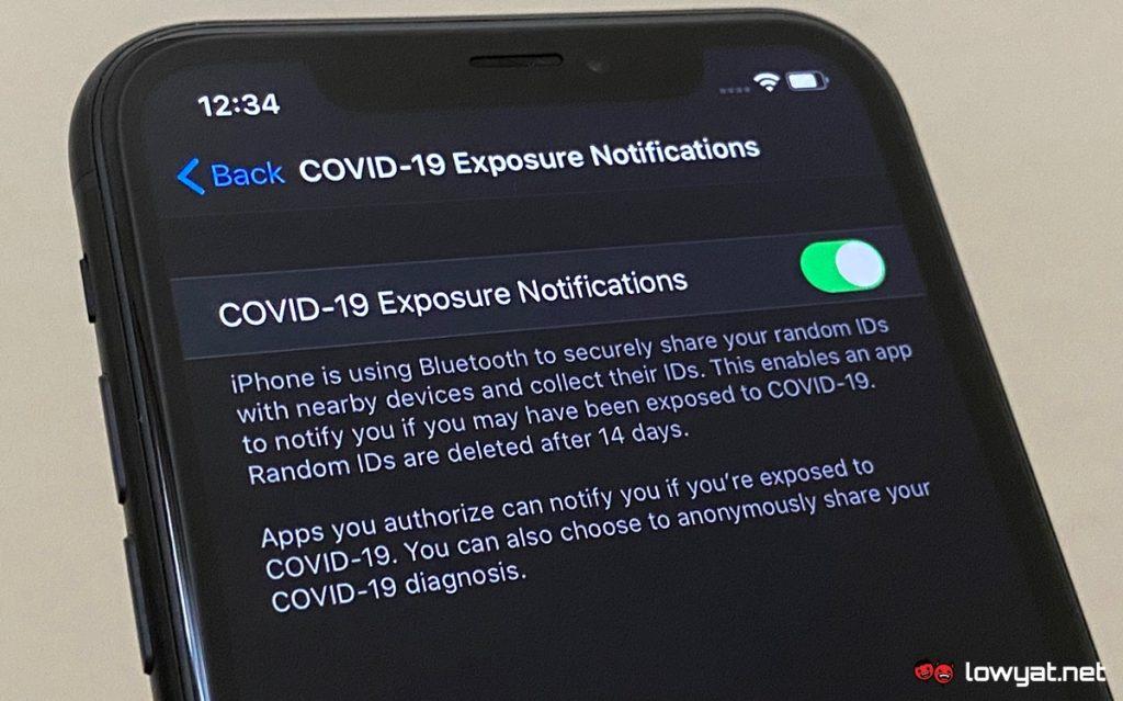 Apple  E o Google fornece aos desenvolvedores notificações da API sobre exposição 1