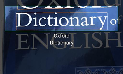 Screenshot słownik angielski urdu Oxford