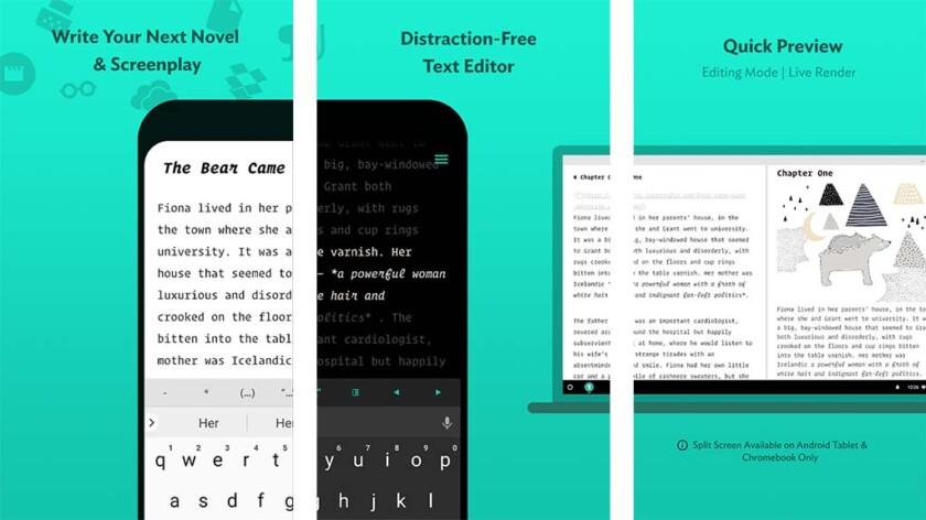 JotterPad - лучшие приложения для Android