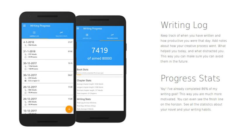 Writer Tools - лучшие приложения для письма