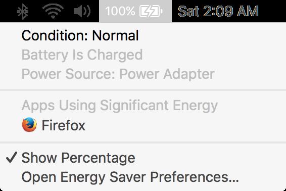 Как контролировать управление батареей macOS в ноутбуке Mac 1