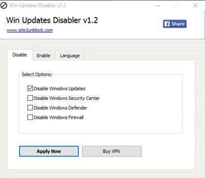 Darmowe narzędzia do blokowania automatycznego Windows 10 aktualizacji