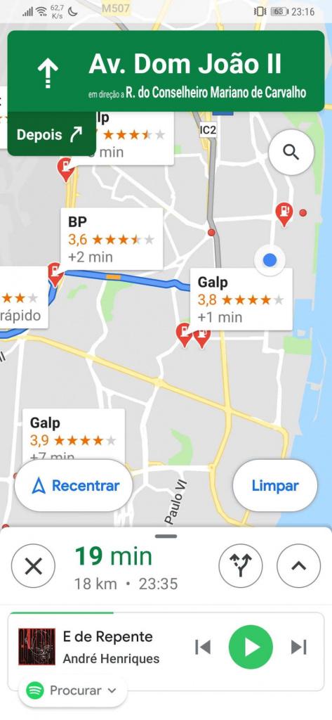 Ovládač cestovných bodov v Mapách Google