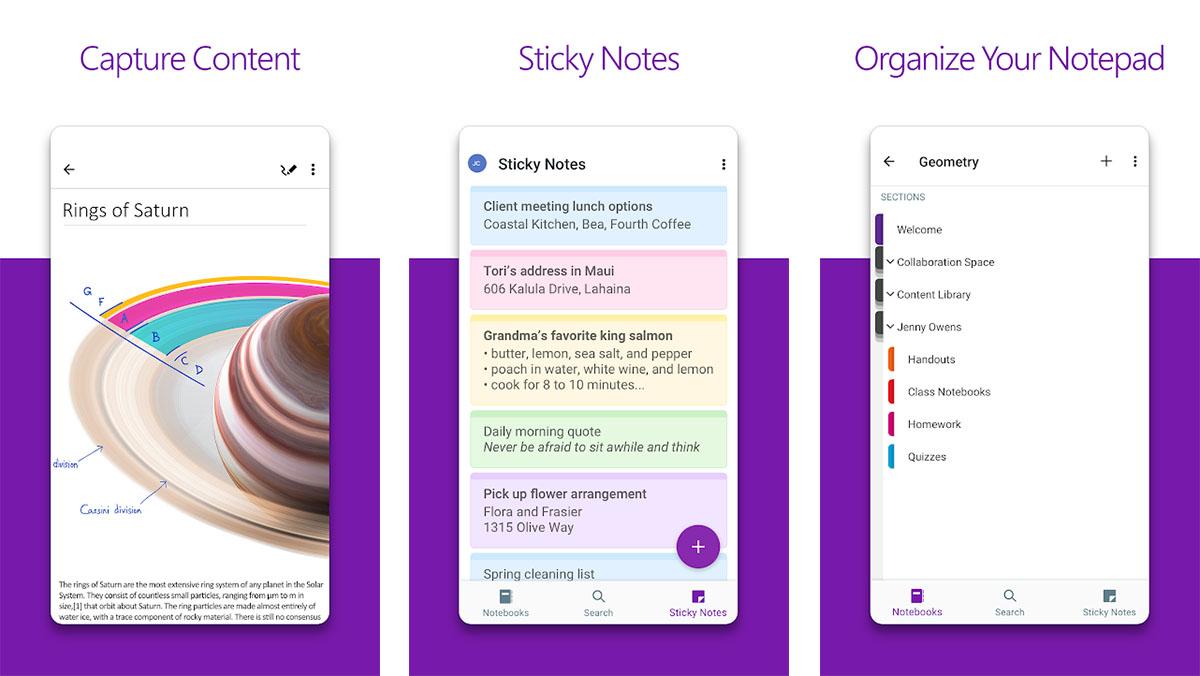 O Microsoft OneNote é um dos melhores aplicativos de anotações para Android