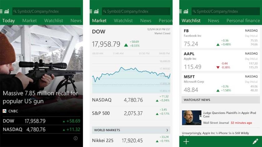 O MSN Money é um dos melhores aplicativos do mercado de ações para android