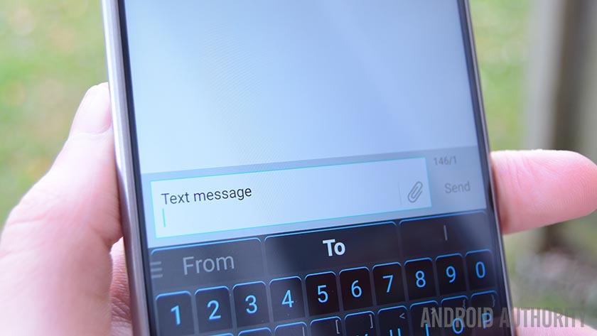 Foto do aplicativo para enviar mensagens de texto