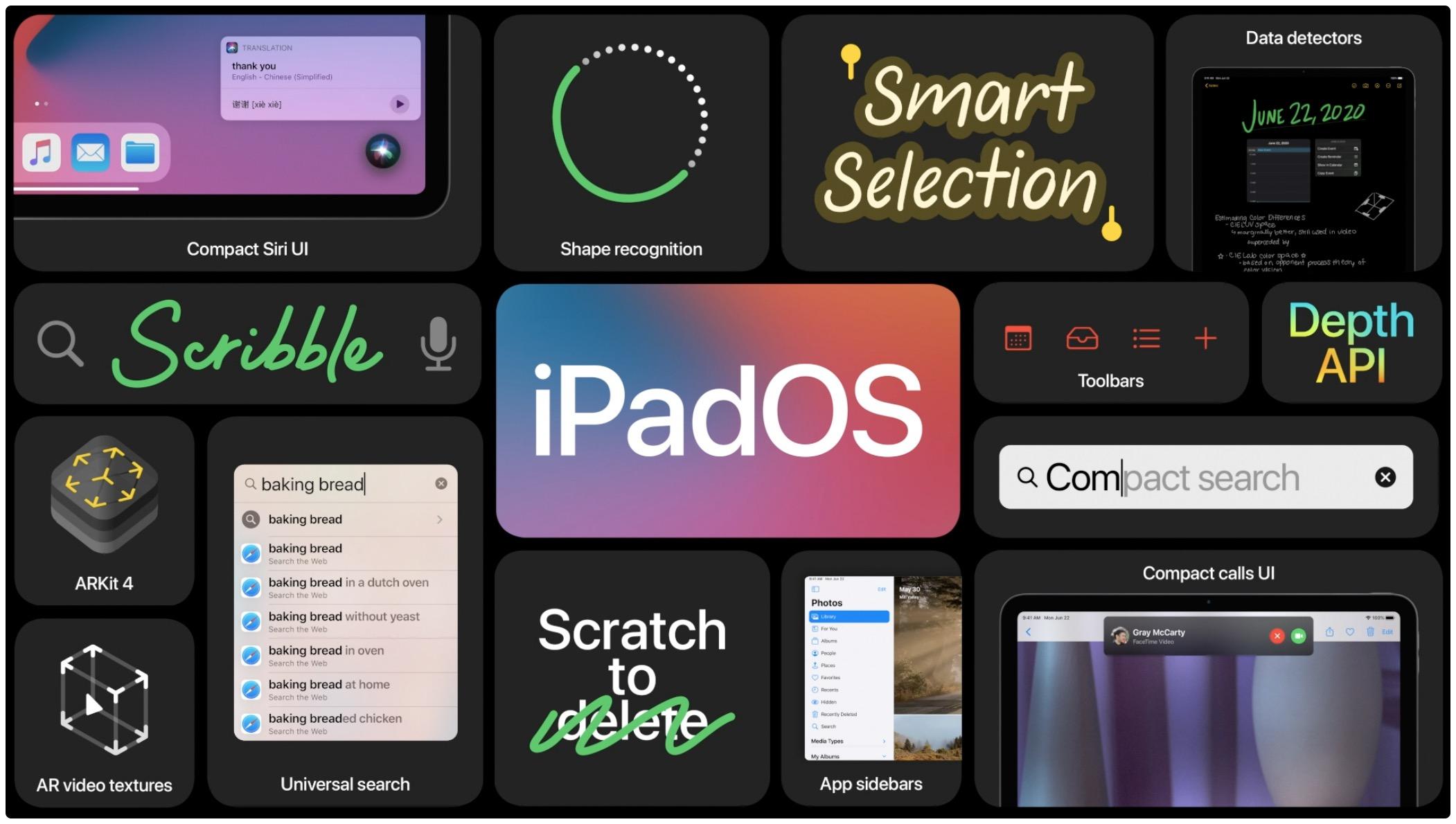 Imagem do herói do iPadOS 14