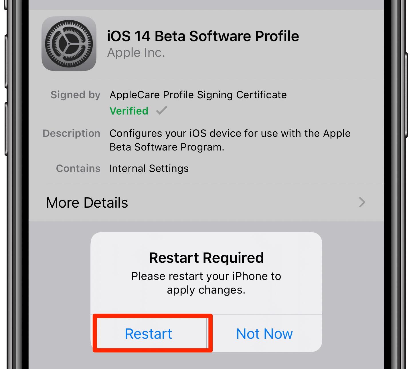 Como instalar desenvolvedores iOS e iPadOS 14 beta 1