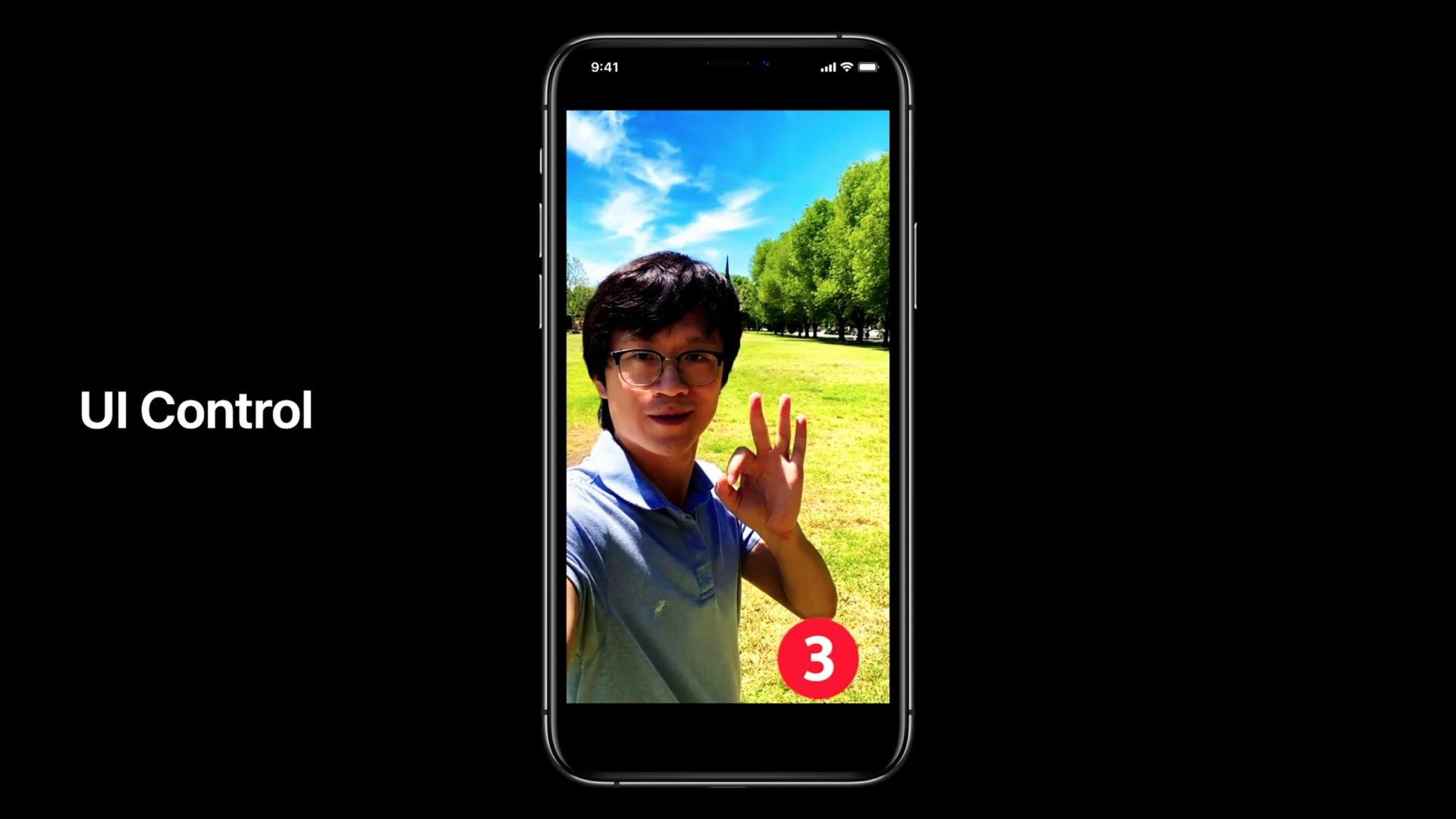 Apple  permite que os desenvolvedores detectem o corpo humano e as mãos para interação sem a tela de um aplicativo 6