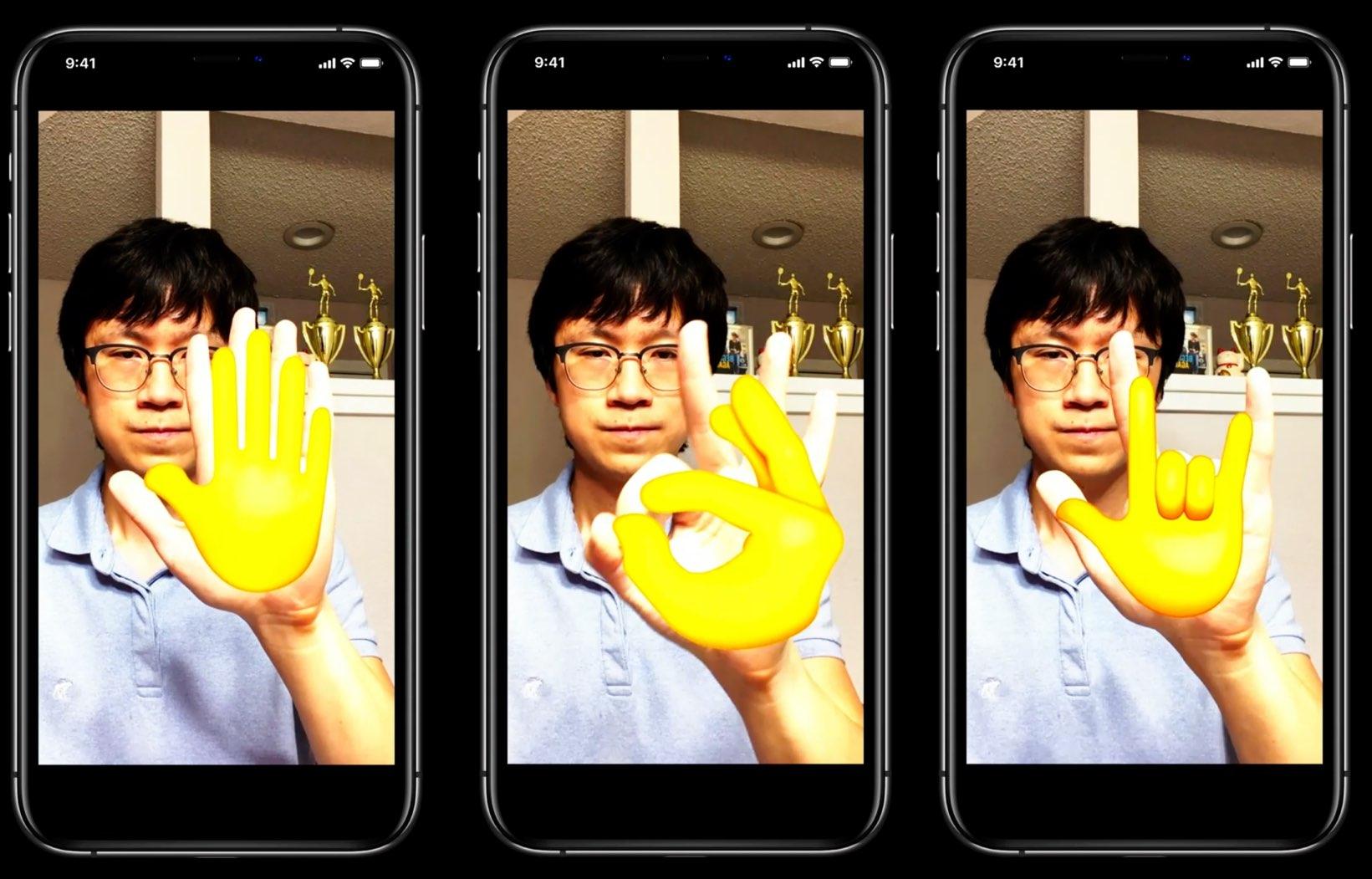 Apple  permite que os desenvolvedores detectem o corpo humano e as mãos para interação sem a tela de um aplicativo 7