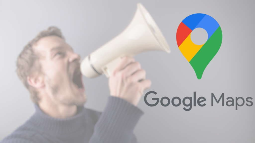 Google Maps voz opções utilizador