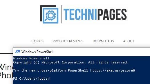 7 Tapoja avata PowerShell sisään Windows 10