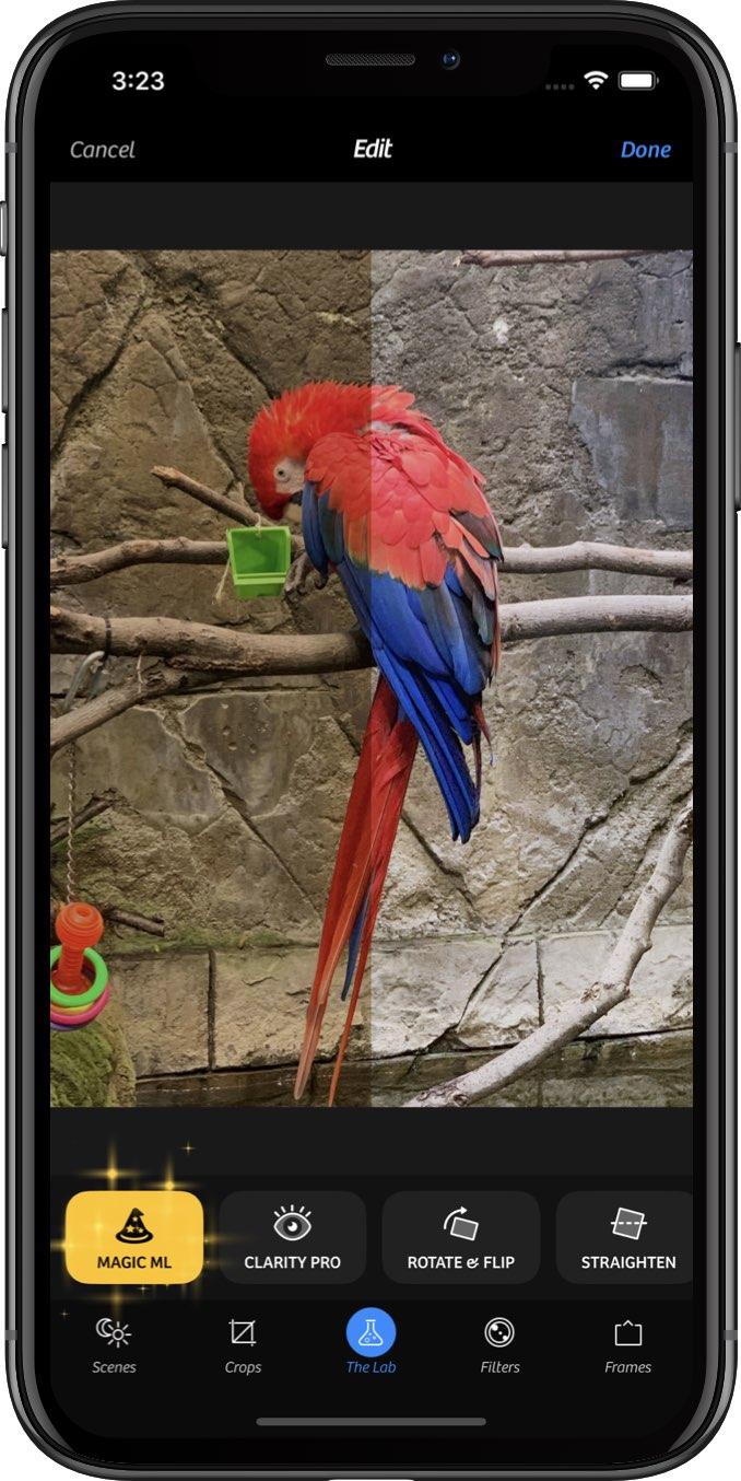 O Camera + usa o poder do aprendizado de máquina para realizar feitiços em suas fotos 1