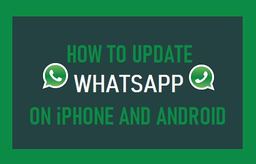 Kako ažurirati WhatsApp na iPhoneu i Androidu