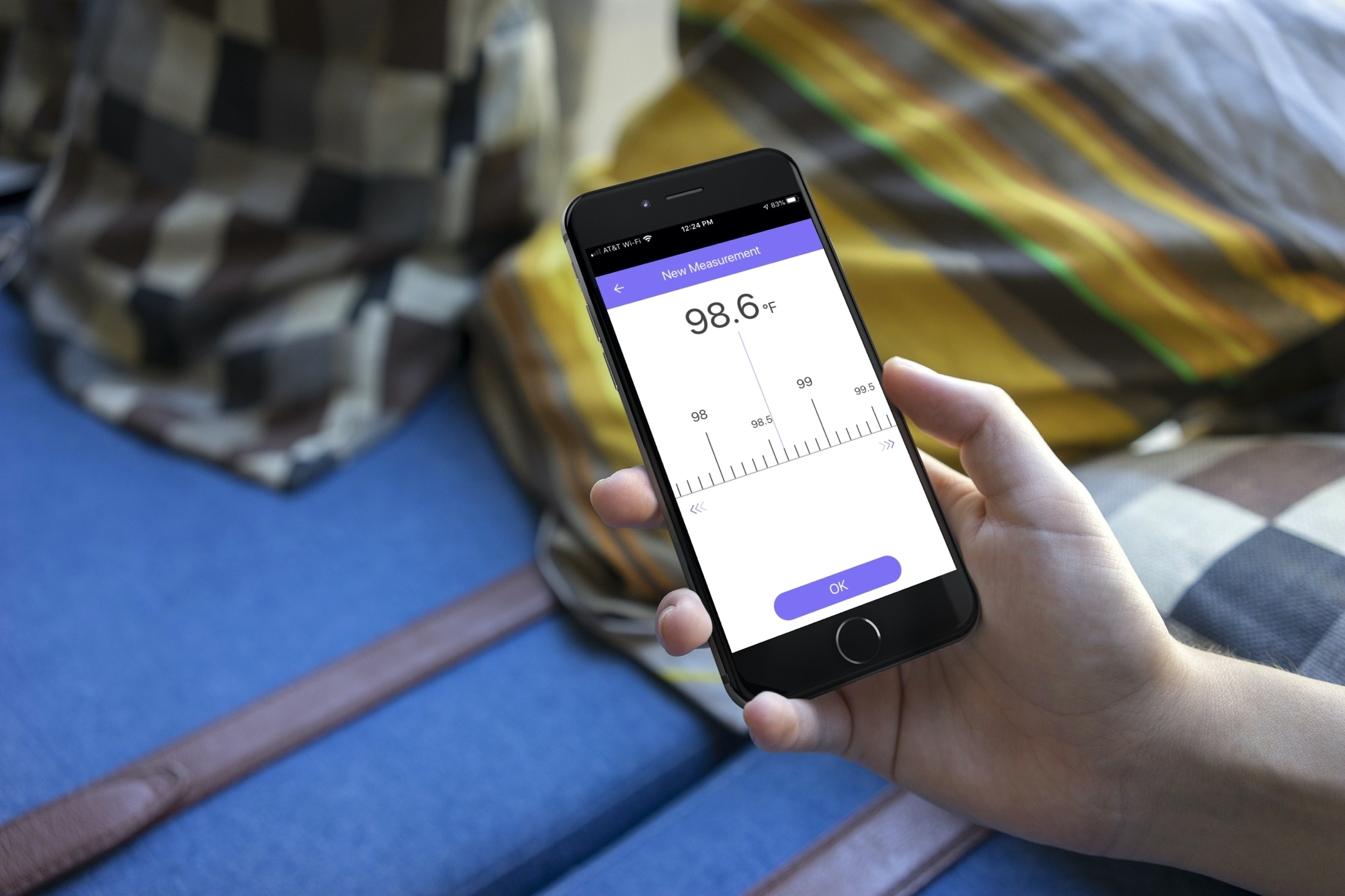 aplicativos de rastreamento de temperatura corporal do iPhone - MedM