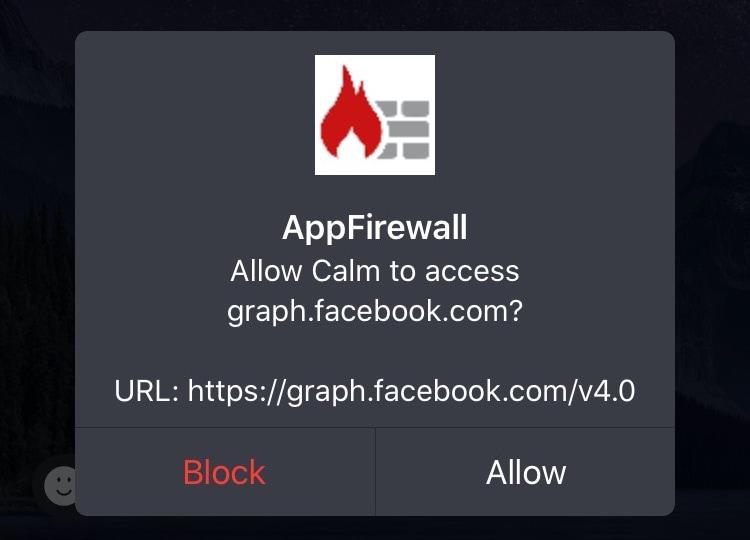 Palomuuriohjelman avoimen beetaversion avulla jailbreaks voi hallita sovellusyhteyksiään 1