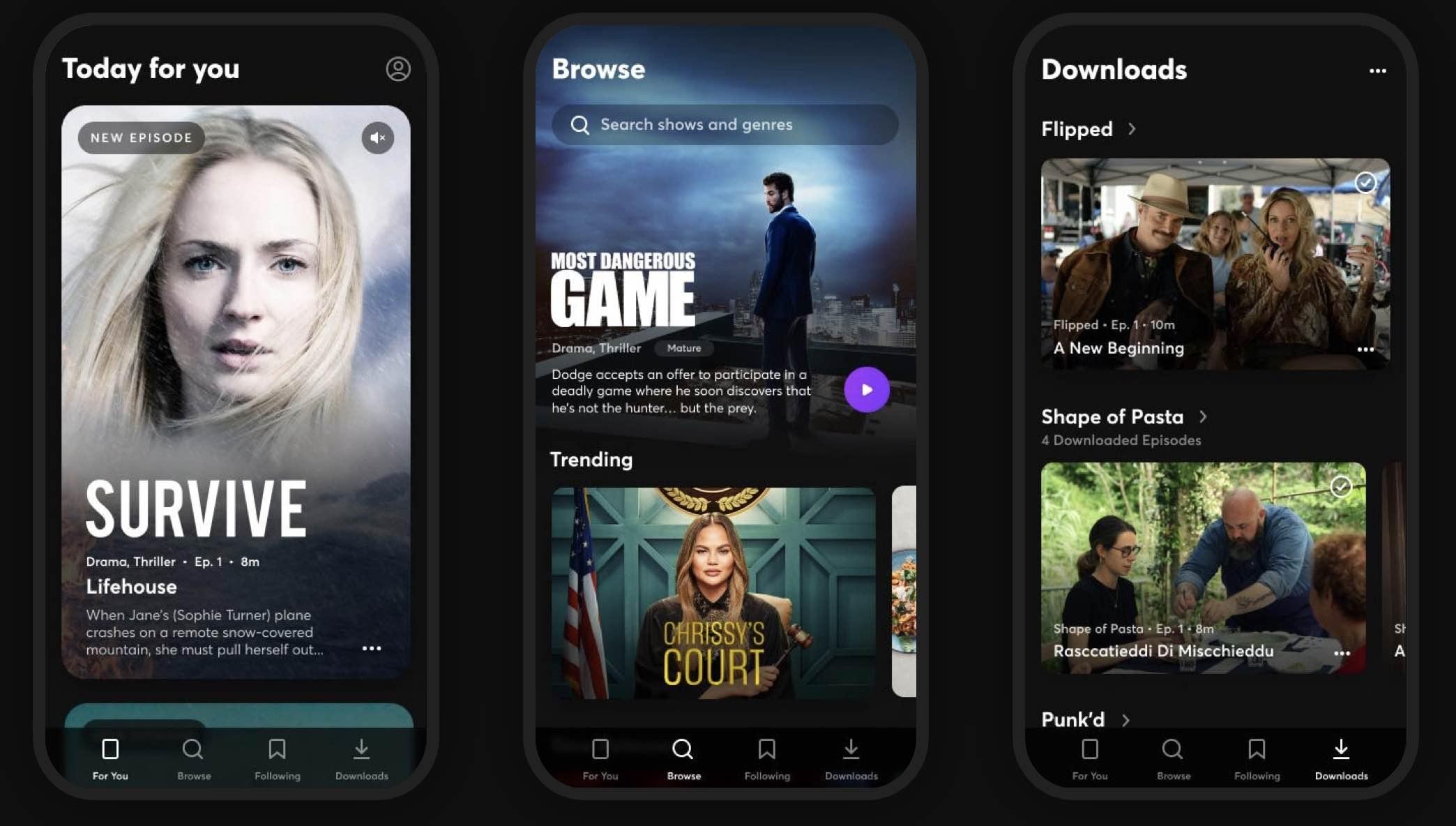 Quibi lança integração AirPlay, suporte ao Chromecast será exibido em junho 1