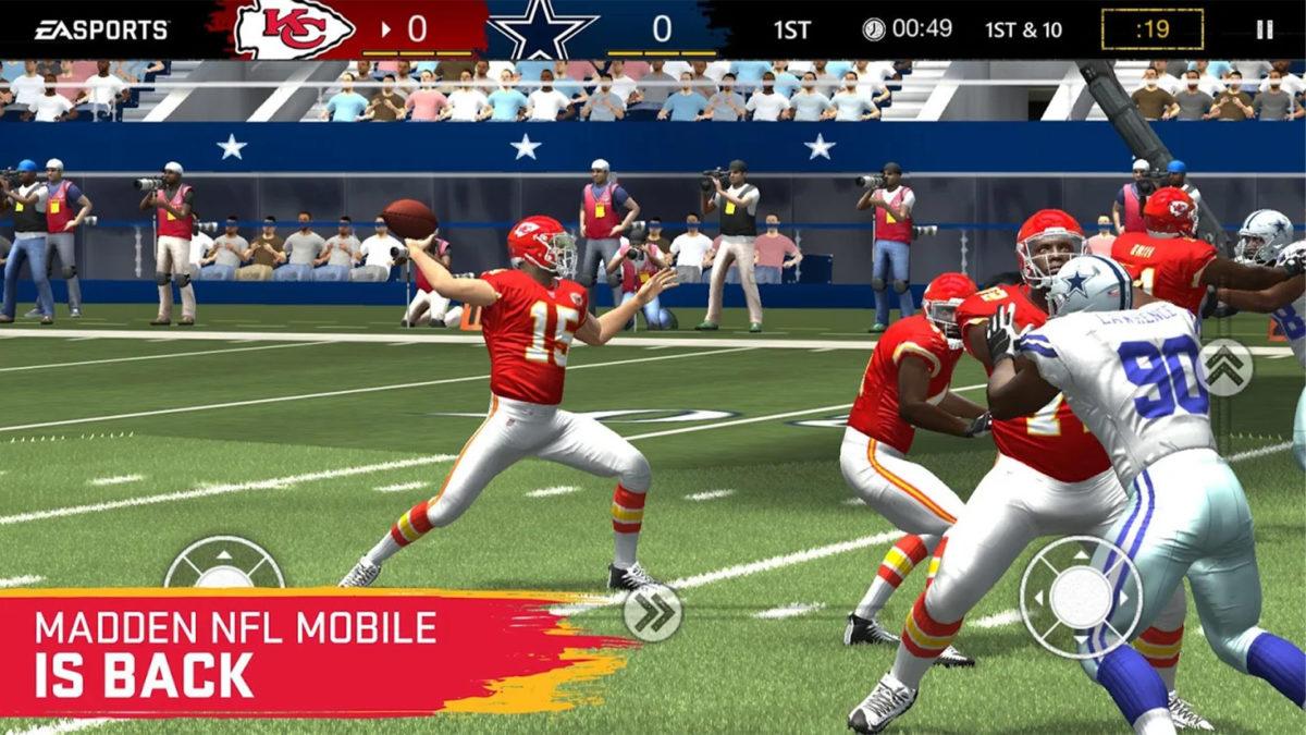 Madden Overdrive os melhores jogos de futebol no Android