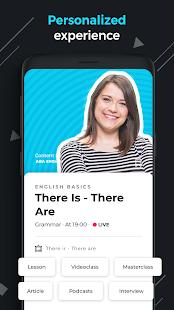 ABA English - zrzut ekranu z nauki angielskiego