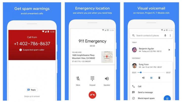 O aplicativo Google Phone pode informá-lo sobre os motivos da conexão com a empresa 2