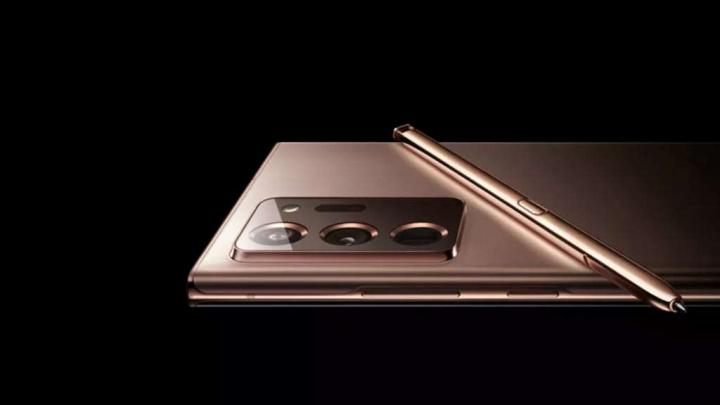 Samsung Galaxy Poznámka 20 obsahuje fotografie