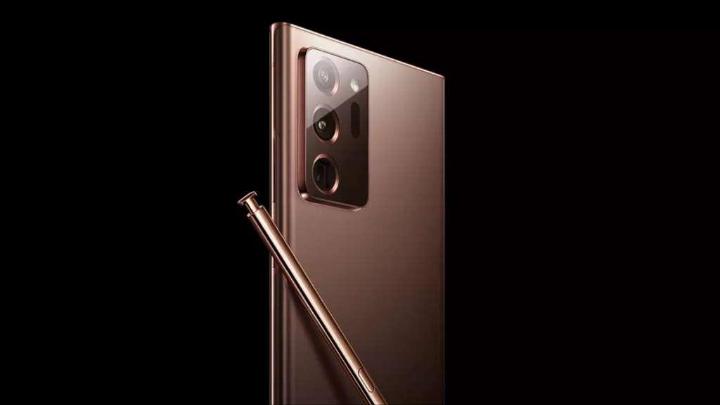 Samsung Galaxy Note 20 imagens cobre