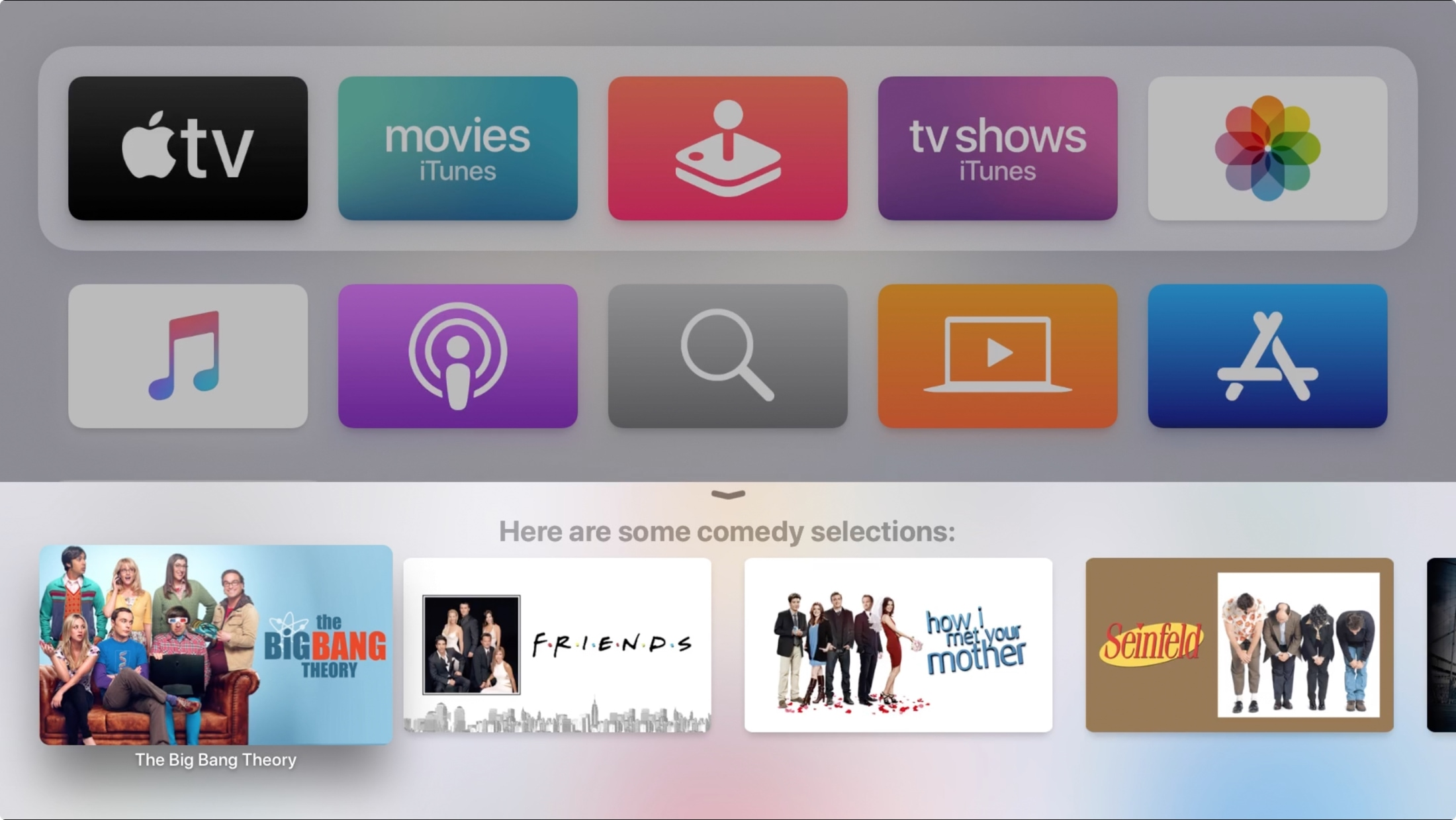 Vyhľadajte rod Siri v Apple televízia