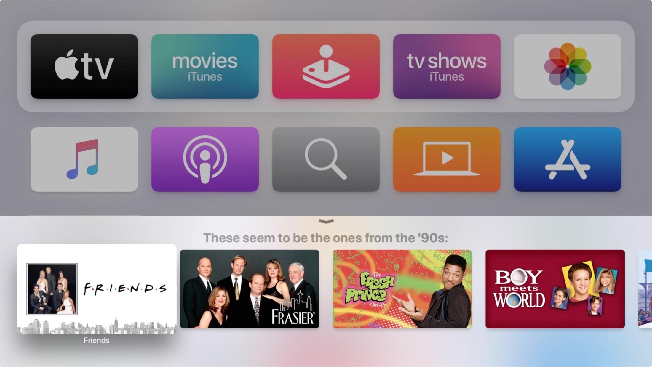 Siri úzke vyhľadávanie povolené Apple televízia